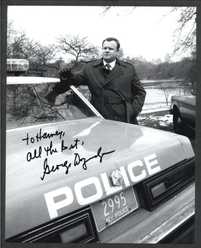 George Dzundza - Signed Autograph Movie Still - L.A. LAW - Deer Hunter