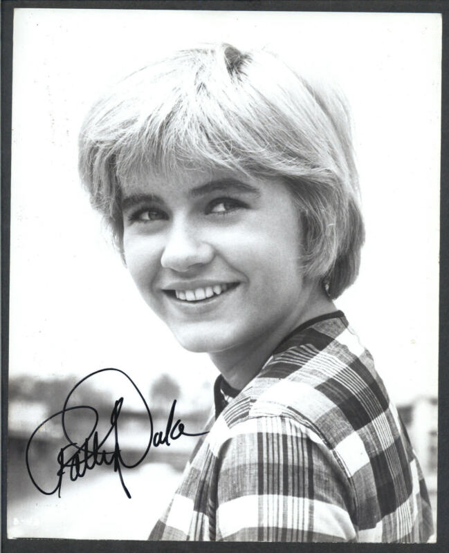 Patty Duke - Signed Autograph Movie Still - Patty Duke Show