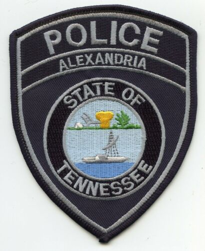 ALEXANDRIA TENNESSEE TN POLICE PATCH