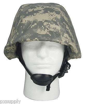 HELMET COVER ARMY ACU DIGITAL CAMO PATTERN POLYESTER COTTON BLEND ROTHCO 9356