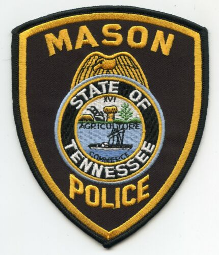 MASON TENNESSEE TN POLICE PATCH
