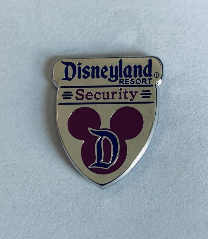 Disney Disneyland DLR - Cast Member Security Shield Pin
