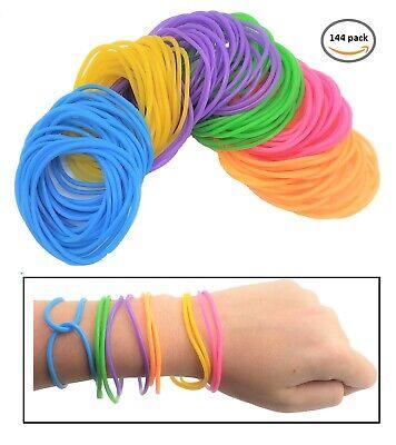 80s Colorful Neon Jelly Bracelets (144 Pcs.) 7