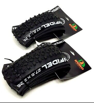 2-PACK Duro Infidel 27.5 x 2.25 Folding Mountain Bike Tire,Tubeless Ready, PAIR