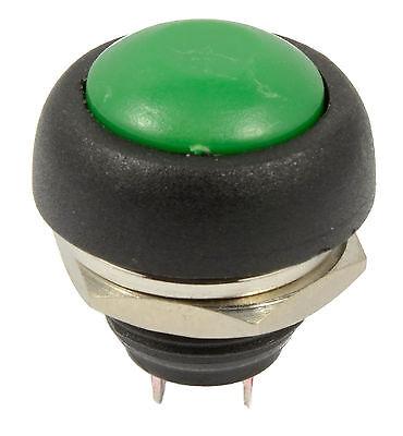 1stk  12V grüne Taste Momentary Push Button Horn Switch Auto Boot SPST