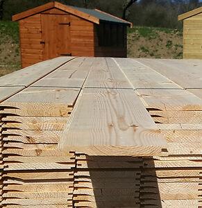 £1 Per Metre SHIPLAP A Grade Scandinavian Tongue & Groove Timber Cladding
