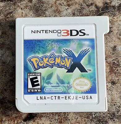 NINTENDO 3DS POKEMON X (TESTED-WORKS GREAT)
