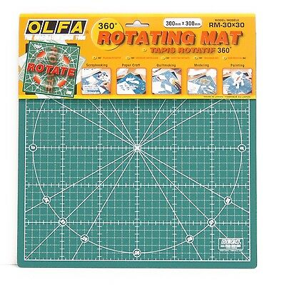 OLFA Rotating Mat 360 Degree RM-30x30 300mm Anti Slip