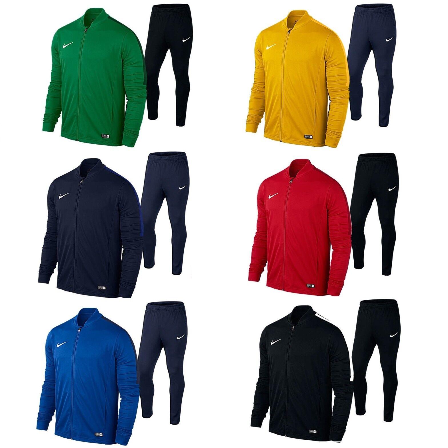 Nike ACADEMY16 Herren Trainingsanzug Sport Fußball Freizeit Lauf Jogging 808757