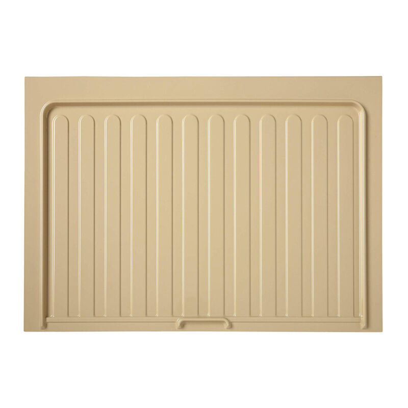 Rev-a-shelf Under Sink Drip Tray Mat And Base Kitchen Cabinet Accessory, Almond