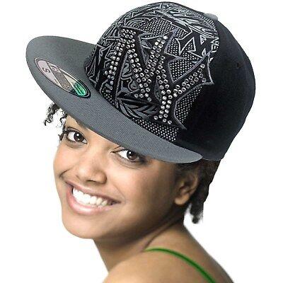 Gangster Headwear (Hip Hop Hiphop Urban Wear Cap Hat Baseball Gangster Fitted Premium Headwear)