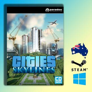 Cities Skylines PC Digital Download via STEAM