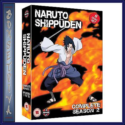 NARUTO SHIPPUDEN SERIES 2 -COMPLETE SEASON 2 **BRAND NEW DVD ** for sale  Shipping to Canada