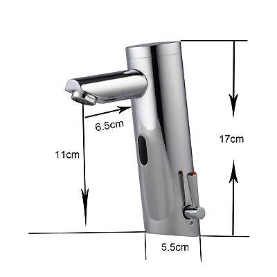 Sensor Infrarot Wasserhahn Automatik Mischbatterie Waschtisch Armatur WARM KALT (Automatische Wasserhahn)
