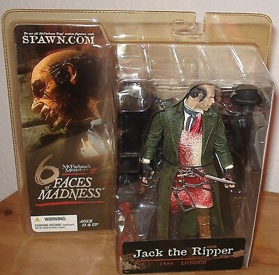 McFarlane Monsters Series 3 Six Faces of Madness Jack the Ripper 17 cm Figur Neu