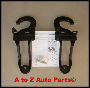 new 2009 2015 dodge ram 1500 tow hooks complete tow hook package oem mopar. Black Bedroom Furniture Sets. Home Design Ideas