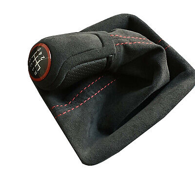 Schaltsack Schaltmanschette für VW Lupo /& New Beetle Leder Cremefarbig
