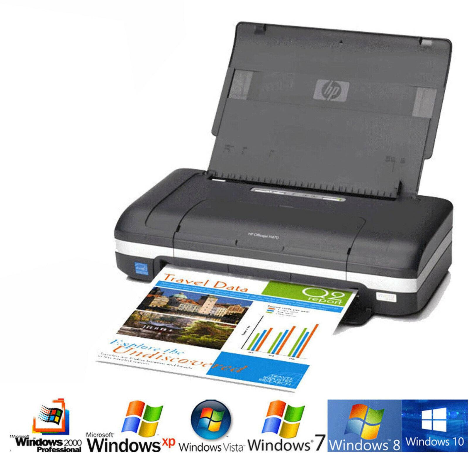 Mobile! imprimante hp deskjet 470 usb pour windows xp vista 7 8 10 bluetooth