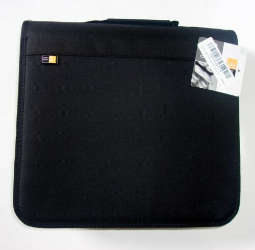 Case Logic BNB208 Capacity CD/DVD Prosleeve Nylon Binder Black