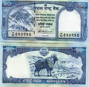 Nepal-2008-New-50-Rupees-Bank-Note-UnCirculated