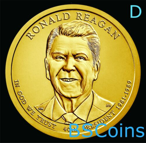 2016 D Ronald Reagan Presidential Dollar ONE coin from US MINT - Ship TODAY!!