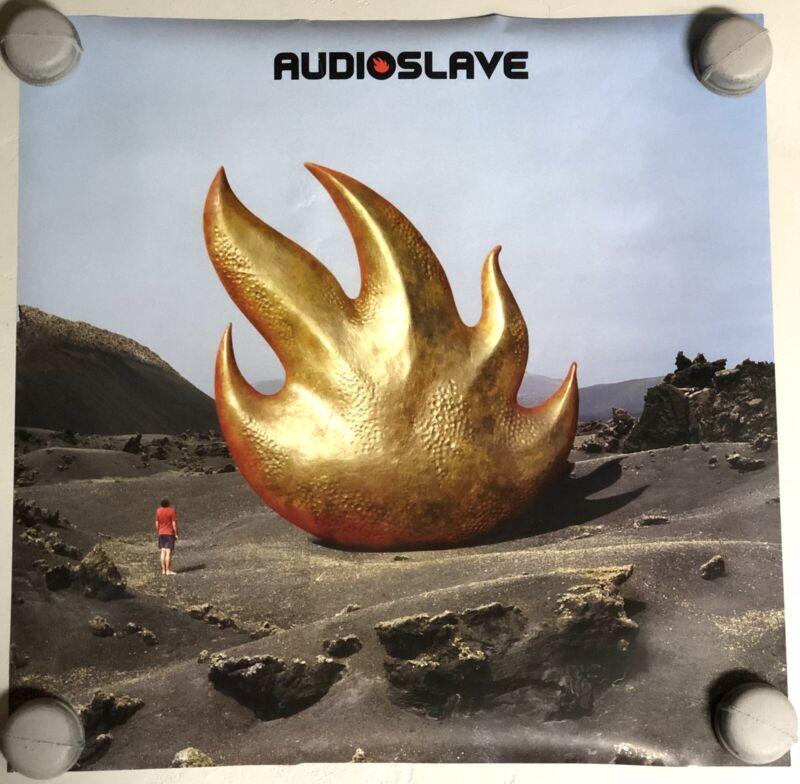 Audioslave Original Record Store Promo Poster Chris Cornell Soundgarden Rare
