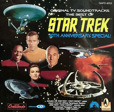 THE BEST OF STAR TREK 30TH ANNIVERSARY SPECIAL TV series soundtrack CD
