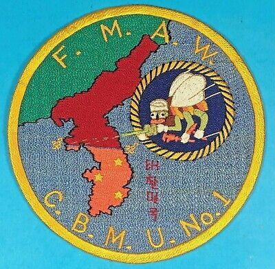 Korean War, Hashimoto Art, 1st Marine Air Wing, Seabees Mobile Unit, Exc.+ Cond.