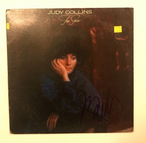 * JUDY COLLINS * signed vinyl album * THE STORIES * PROOF * 1