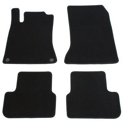 Fußmatten für Mercedes CLA C117 / GLA X156 AMG Velours Qualität Autoteppiche Set