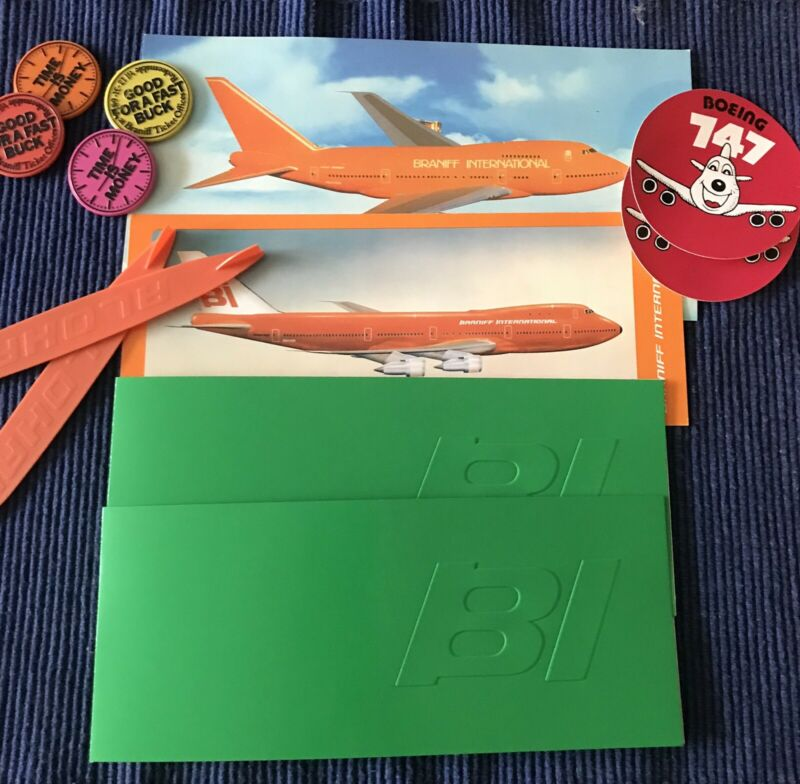 Braniff Airlines Misc. Lot