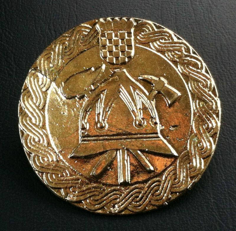Very rarre medal - Firefighting Croatia Medal Order Badge - Hrvatska !
