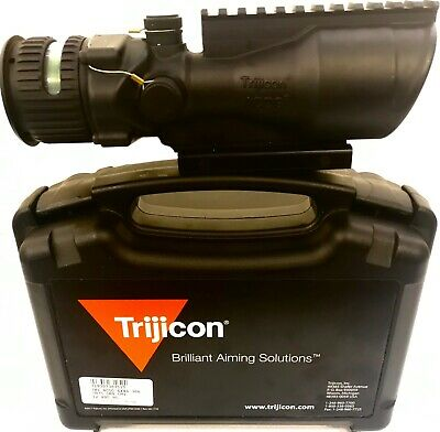 Trijicon ACOG 6x48 Green Chevron w/TA75 & 1913 Rail NEW