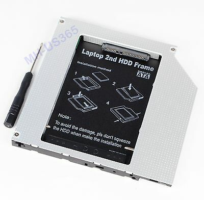 "New PATA / IDE To SATA 2nd Hard Disk HDD SSD Caddy Bay for Macbook Pro 15"" A1260"
