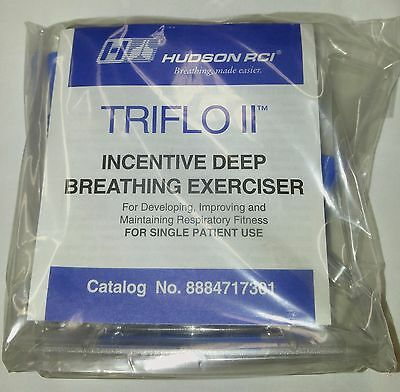 Triflo Ii Incentive Deep Breathing Exerciser   Spirometer