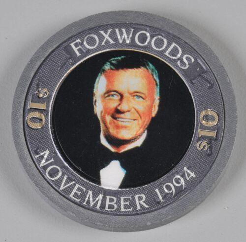 Foxwood Casino Gaming Chip $10 Frank Sinatra November 1994 Uncirculated