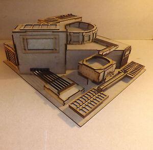 Industrial building Ingot Factory scenery terrain warhammer 40k wargame Infinity