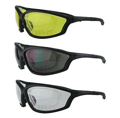 Titus Safety Glasses Shooting Motorcycle Protection Ansi Z87 W Rx-able Insert