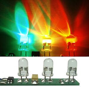 2-St-LED-LICHTORGEL-FUR-DISCO-KIRMES-anschlussfertig-Blinklicht-in-RGB-Farben