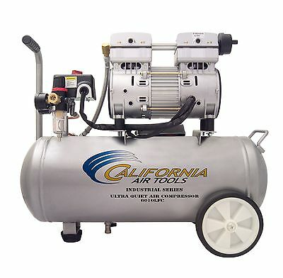 California Air Tools 6010lfc Industrial Ultra Quiet Oil-free Air Compressor