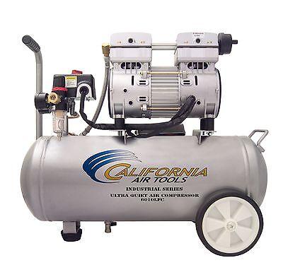 California Air Tools 6010lfc Industrial Ultra Quiet Oil-free Air Compressor