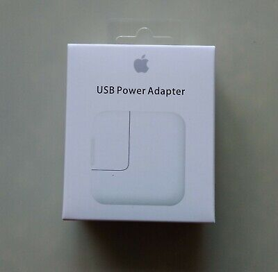 Genuine OEM 12W USB Power Adapter Wall Charger Cable Apple iPad 2 3 4 Air Pro