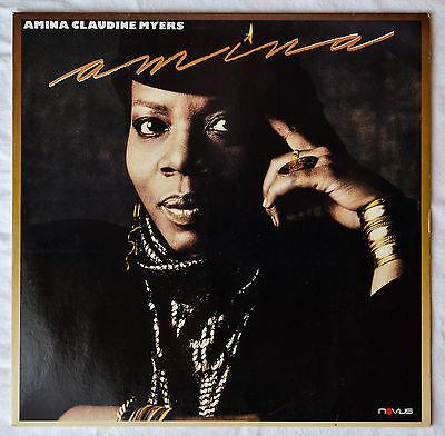 Amina Claudine Myers - Amina (1988), Vinyl LP