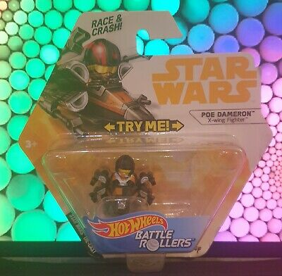 Hot Wheels - Star Wars - Battle Rollers - Poe Dameron - X-Wing Fighter