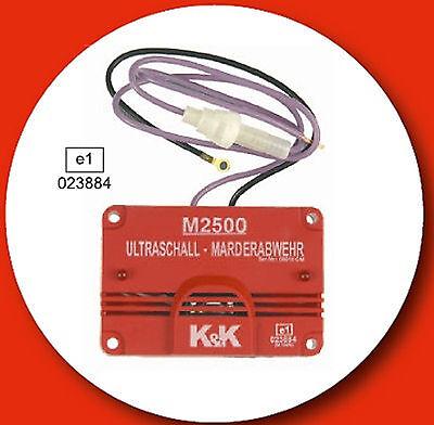 K&K M2500 K+K Marderschreck Marderschock  Marderschutz Scheuche Marderabwehr    , gebraucht gebraucht kaufen  Backnang