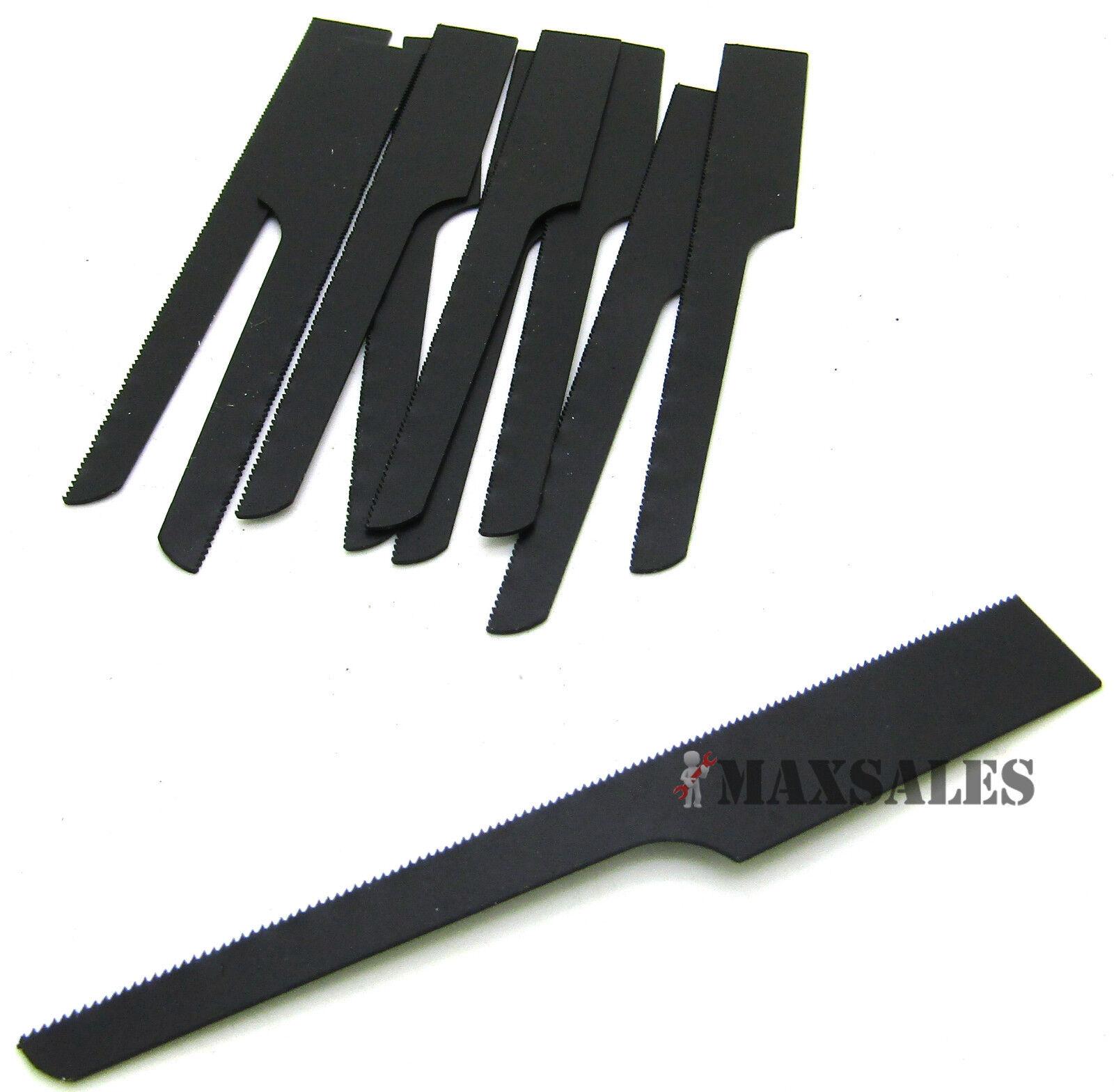 10pc AIR BODY SAW BLADES 32TPI BI-METAL black reciprocating