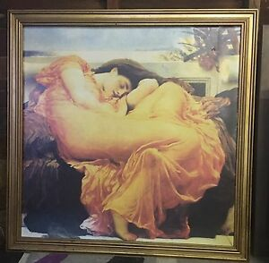 """Flaming June"" framed print Sorell Sorell Area Preview"