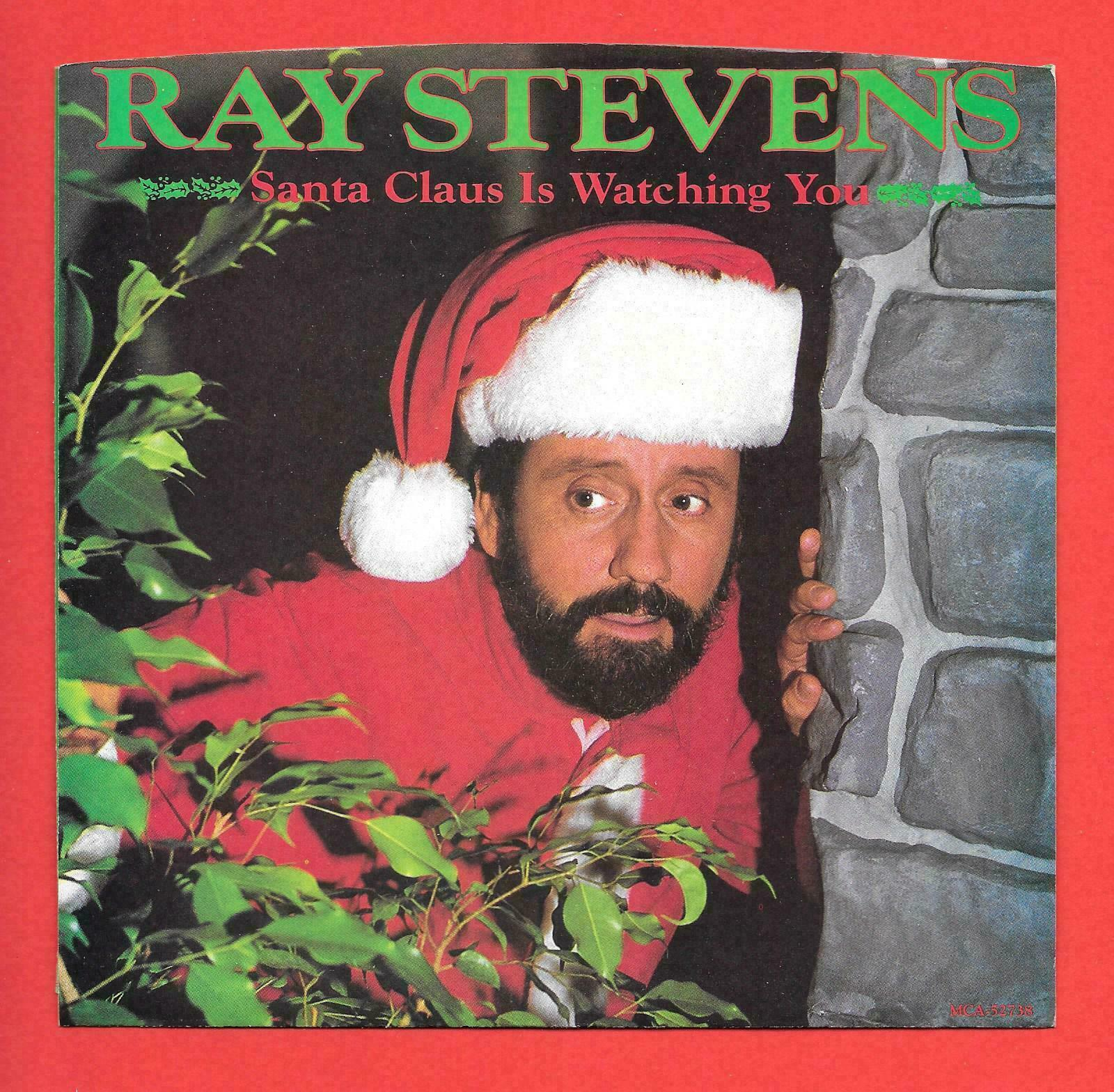 RAY STEVENS SANTA CLAUS IS WATCHING YOU/ARMCHAIR QUARTERBACK MCA PIC SLEEVE - $9.99