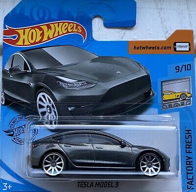 2020 Hot Wheels Tesla Model 3 Brand NEW