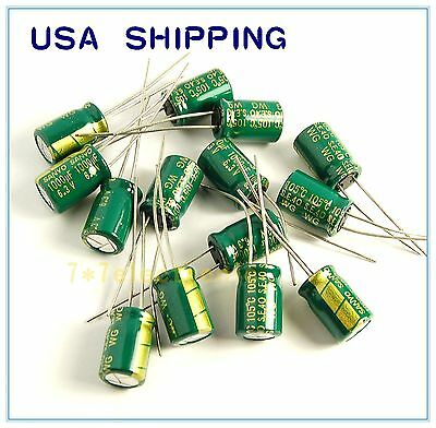 10pcs 1000uf 6.3v Sanyo Radial Electrolytic Capacitors Wg Low Esr 6.3v1000uf